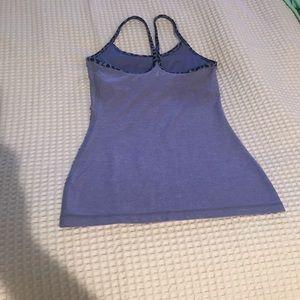 Lululemon Women's power Y tank top purple size 4